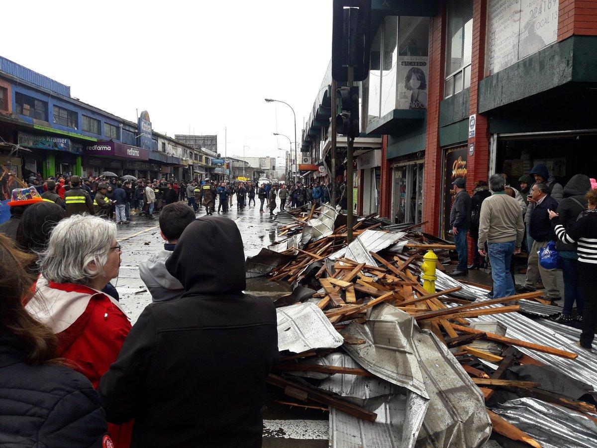 Tornado en Concepción